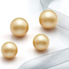 Parejas de perlas golden